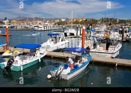 Marina, Cabo San Lucas, Baja California, Mexico, North America - Stock Photo
