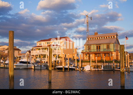 Cape May Harbor, Cape May County, New Jersey, United States of America, North America - Stock Photo