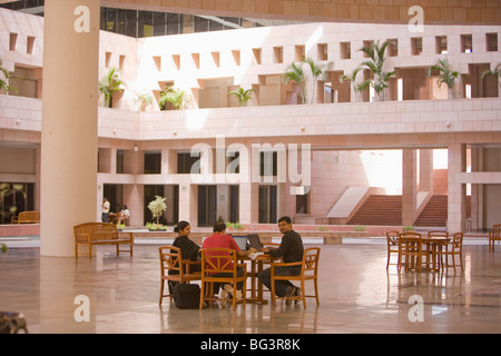 Indian School of Business, Hi-Tech City, Hyderabad, Andhra Pradesh state, India, Asia - Stock Photo