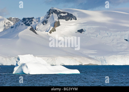Iceberg in the Gerlache Strait, Antarctica, Polar Regions - Stock Photo