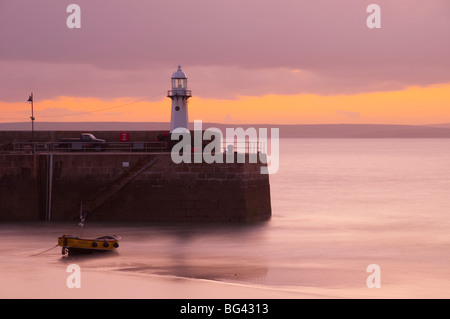 UK, England, Cornwall, St Ives Harbour - Stock Photo