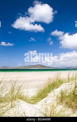 Seilebost beach, Isle of Harris, Hebrides, Scotland, UK - Stock Photo