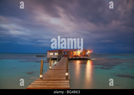 Nicaragua, Corn Islands, Big Corn Island, Corn Island Marine Park, Anastasia by the Sea - Stock Photo