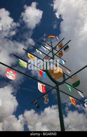 Uruguay, Nueva Helvecia, also known as Colonia Suiza - Stock Photo