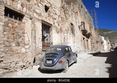 Real de Catorce, former silver mining town, San Luis Potosi state, Mexico, North America - Stock Photo