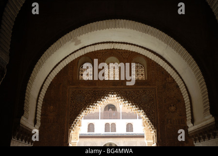 Sala de la Barca, (Hall of The Boat) Comares Palace, Palacios Stock Photo, Ro...
