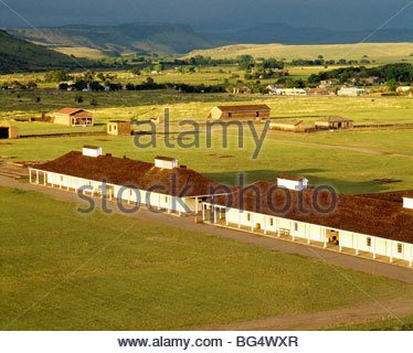 [Fort Davis National Historic Site] Texas - Stock Photo