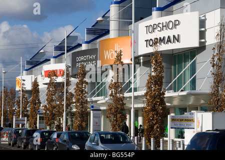 gallions reach shopping centre within the M25 east london england uk gb - Stock Photo