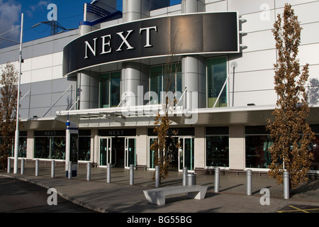 next store shop front gallions reach shopping centre within the M25 east london england uk gb - Stock Photo