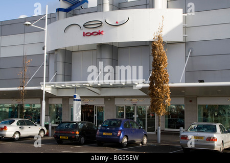 new look shop gallions reach shopping centre within the M25 east london england uk gb - Stock Photo