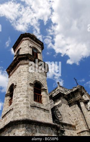 Cathedral of Saint Christopher, Havana, Cuba - Stock Photo