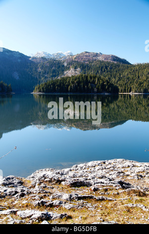 Montenegro, Durmitor National Park, Black Lake (Crno Jezero) - Stock Photo