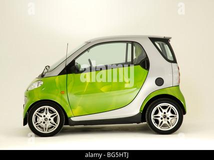 2001 Smart car mk1 - Stock Photo