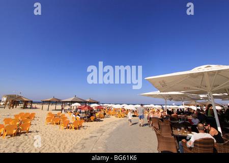 Israel, Tel Aviv-Yafo, Sheraton Beach - Stock Photo