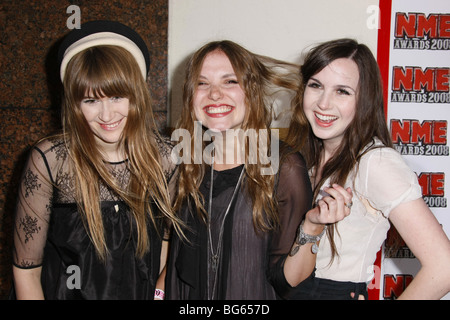 THE LIKE US NME AWARDS EL REY LOS ANGELES CALIFORNIA USA 23 April 2008 - Stock Photo