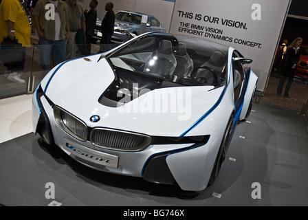 The BMW Vision Efficient Dynamics concept car at the 2009 LA Auto ...