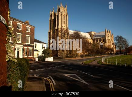 Beverley Minster in East Yorkshire UK - Stock Photo