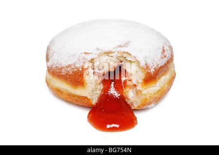 Jam Doughnut - Stock Photo