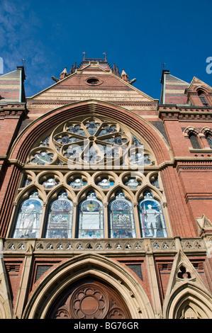 Trinity Church in Boston, Massachusetts - Stock Photo