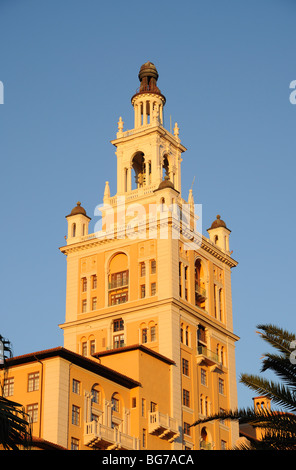 Historic Biltmore Hotel in Coral Gables, Miami Florida - Stock Photo