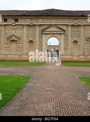 Palazzo del Te, Mantua, Lombardy, Italy - Stock Photo