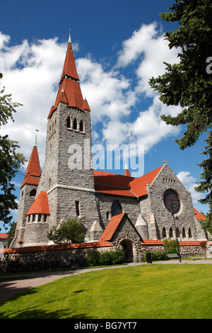 Finland, Region of Pirkanmaa, Tampere, City, Tampere Cathedral - Stock Photo