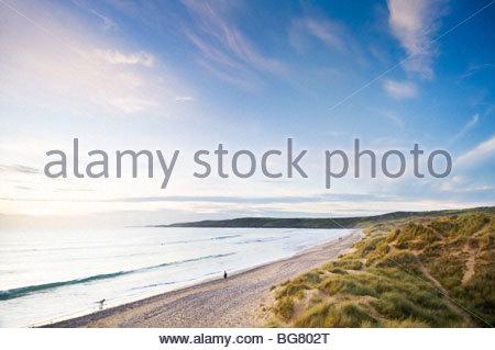 Freshwater West, Pembrokeshire Coast National Park, South Wales, UK. - Stock Photo