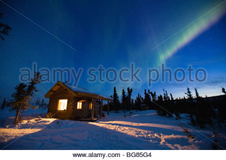 Curtains Of Green And Purple Aurora Borealis (northern Lights ...