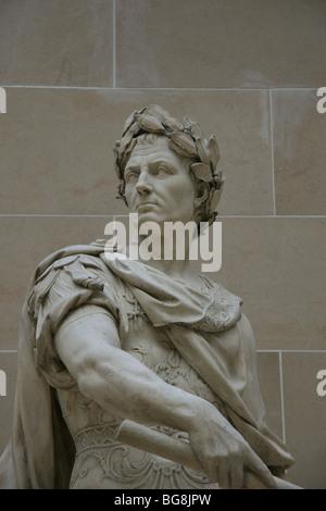 Gaius Julius Caesar (100-44 BC.) . Roman military and political leader. - Stock Photo