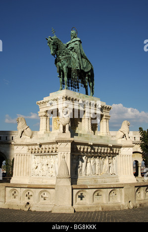 Stephen I of Hungary or Saint Stephen (969-1038). First Christian king of Hungary (1000-1038). - Stock Photo