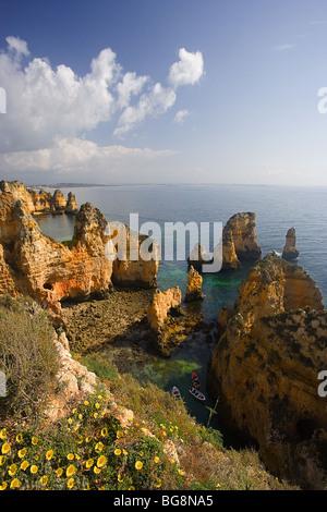 Portugal. Algarve Region. Coastal landscape.