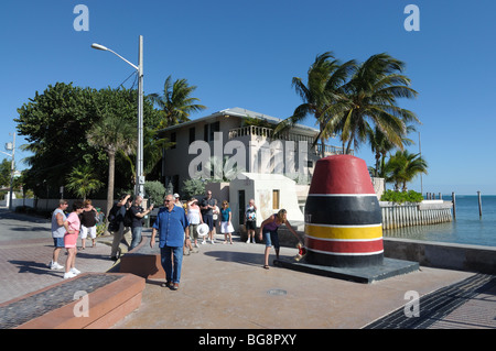 Southernmost point in continental USA, Key West, Florida Keys - Stock Photo