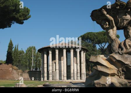 Temple of Vesta, Ancient Roman, 2nd century AD. Vesta ...