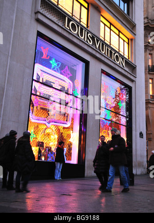 Fashion Paris France French Louis Vuitton Hand Bag Stock ...