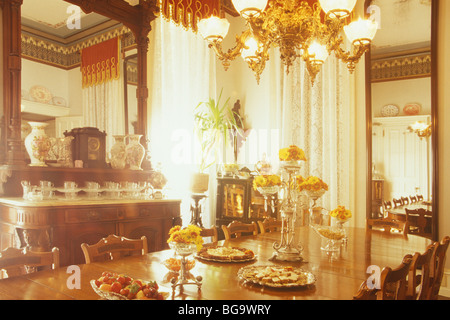 Dining Room Set For Tea Mainstay Inn Cape May New Jersey