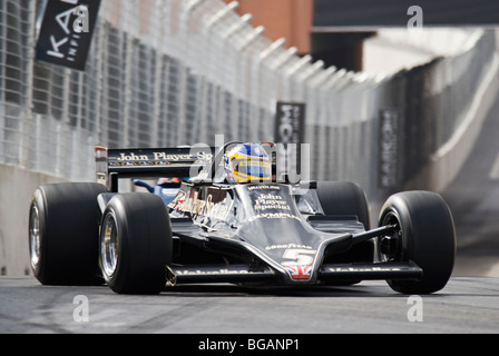 A 1978 Lotus 79 in the Historic Grand Prix support race for the 2007 CHAMP Las Vegas Grand Prix, Las Vegas, Nevada, USA