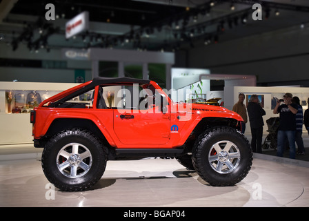 The Mopar Jeep Lower Forty concept at the 2009 LA Auto Show, Los Angeles, CA, USA - Stock Photo