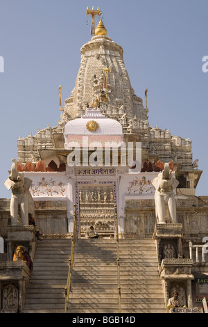 India Rajasthan Udaipur Jagdish Mandir - Stock Photo