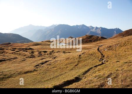 Switzerland. Canton Tessin. Val Piora. - Stock Photo
