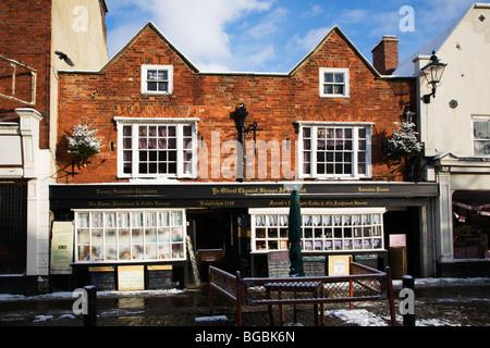 Ye Oldest Chymist Shoppe in England Knaresborough North Yorkshire England - Stock Photo