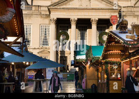 Salt Lamps Leeds : German Christmas Market in Millennium Square Leeds Yorkshire England Stock Photo, Royalty Free ...