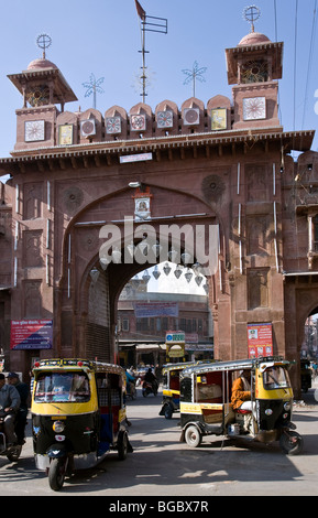 Kote Gate. Bikaner. Rajasthan. India - Stock Photo