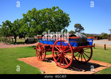A Barrels Cart Stock Photo 23777954 Alamy