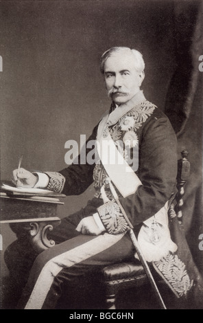Sir Henry Bartle Edward Frere, 1st Baronet, 1815 -1884. British colonial administrator. - Stock Photo