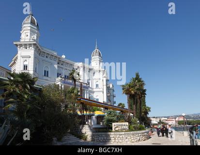 Admiral Casino, Opatija, Istria, Croatia, Europe - Stock Photo