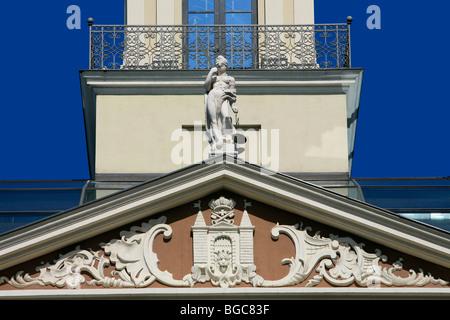 Detail of the town hall of Riga, Latvia - Stock Photo