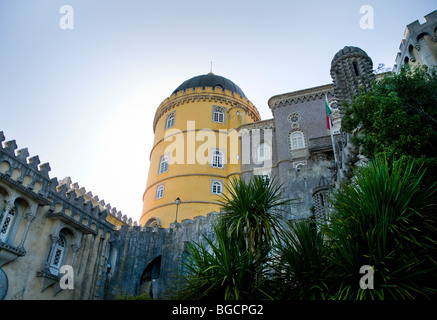 Palace of Pena - Sintra Portugal - Stock Photo