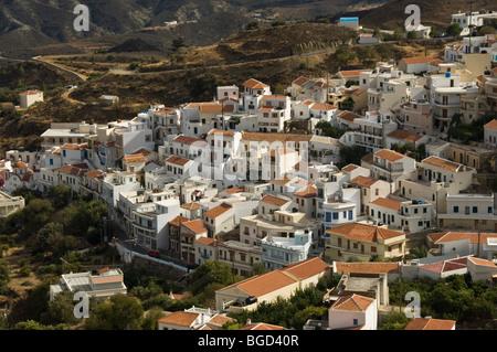 Aperi, Karpathos, Aegean Islands, Aegean Sea, Greece, Europe - Stock Photo