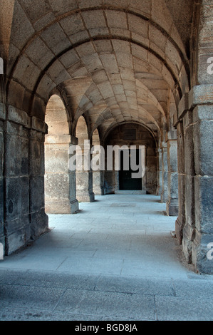 Archway in El Escorial, Madrid (Spain). UNESCO World Heritage Site. - Stock Photo