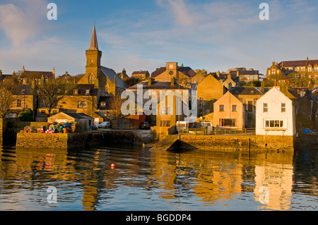 Stromness Town on the Mainland of Orkney  SCO 5665 - Stock Photo